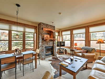 Photo for Cozy Crested Butte Condo 50 Yards from Ski Lift!