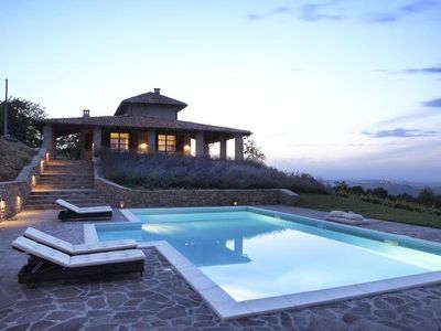 Photo for Luxury villa in the middle of the vineyards with stunning views!