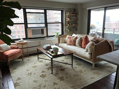 Photo for Oasis in the Sky: 1 bedroom, 1 bath, private outdoor space w/ grill, high floor