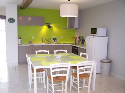 Photo for Spacious and authentic apartment in the countryside near Pau