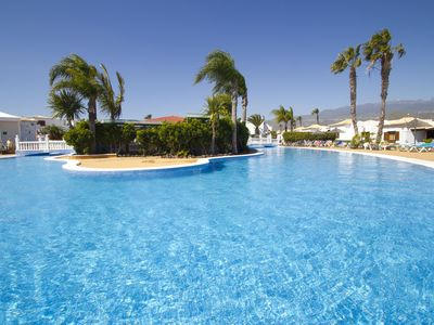 Photo for Tenerife Studio Located on Lush Rising Hills - Beautiful Landscaped Pool!!