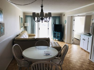 Photo for Oceanfront condoEasiest walk to the beach&pool!Beach Front Condo Family Fun!