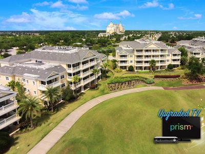 Photo for Amazing Sunset Views! Luxury Condo with Upgraded TV Package - 6 Miles to Disney!