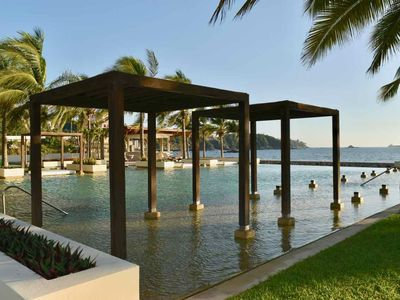 Photo for BEAUTIFUL LUXURY CONDO OCEAN FRONT, BEST PLACE IN MANZANILLO! VISIT BEST PLACE!