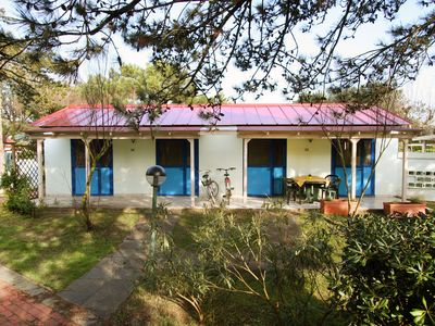 Photo for BUNGALOW 4/5 GUESTS - Private beach, swimming pool, entertainment included
