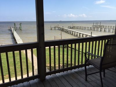 Photo for Waterfront on Galveston Bay with pier and boat lift!