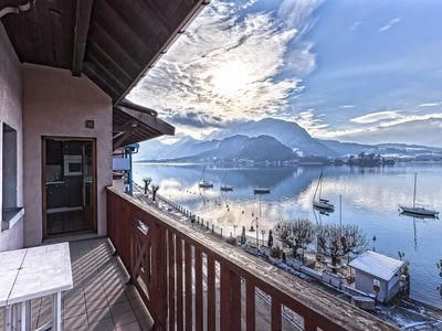 Photo for 1BR Apartment Vacation Rental in Talloires-Montmin, Auvergne-Rhône-Alpes