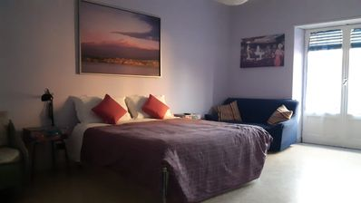 Photo for Family room near the center of Catania and the sea