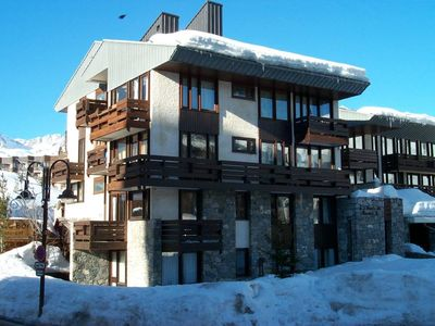 Photo for Tignes 2100 alt. F2 + cabin 6/7 pers. at the foot of ski slopes