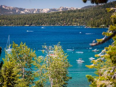 Photo for Tahoe Vista Retreat With Lake View- Walk To Beach