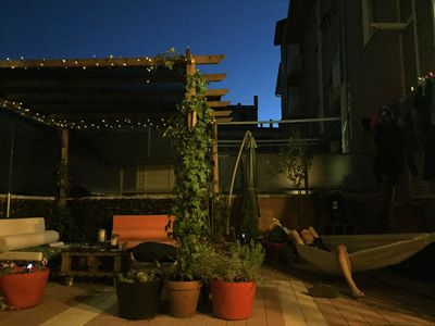 Photo for Big terrace and 4 double beds in a luminous ap. in the centre of Madrid for 6
