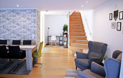 Photo for Luxury holiday home, 18 beds, A3 connection 8 min to Cologne fair, city close, 200sqm