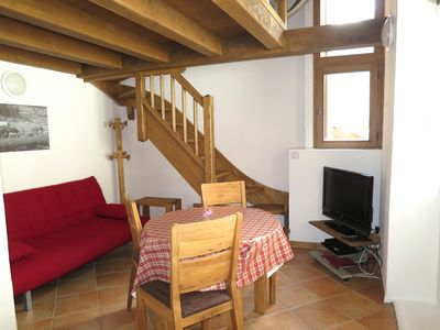 Photo for Cocooning at the foot of the slopes! Adorable little apartment of 2015 in the center
