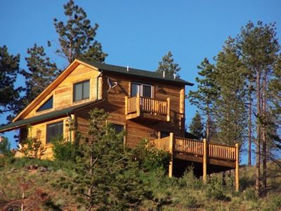 Photo for Pikes Peak Resort - Eagle Crest Cabin - Where Wilderness & Luxury Meet