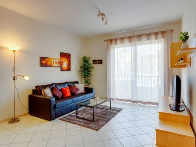 Photo for Valletta and Harbour Views Apartment in Central Sliema