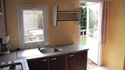 Photo for Camping Le Clos de Banes - Mobile Home 4 Rooms 6 People