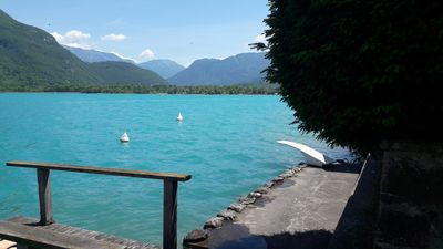 Photo for Annecy lake, large house with private beach