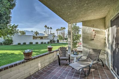Enjoy an easy-going getaway at this Cathedral City vacation rental condo!