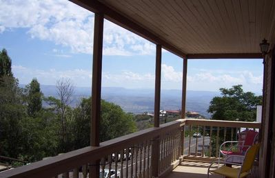 Your private balcony with spectacular view of the  Verde Valley