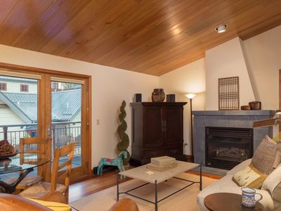 Photo for Penthouse living with luxurious decor in the heart of Telluride with hot tub, gym, and fire pit