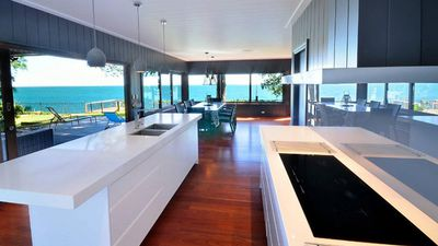 Photo for Dolphins at Sunset | Superb 3 bed, 2 .5 bath water front Amity house