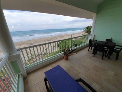 Photo for 2 bedroom beachfront condo