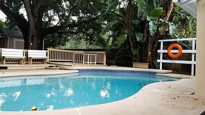 Photo for Small Paradise with pool in South Tampa