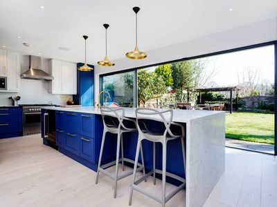 Photo for Stunning 5 bed 5 bath family home by Wimbledon Common, Sleeps 9 (Veeve)