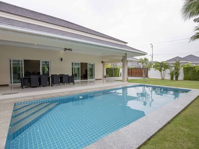Photo for Palm Villas - 3 Bed 3 Bath, Private swimming pool for Rent @Hua Hin/Cha-am