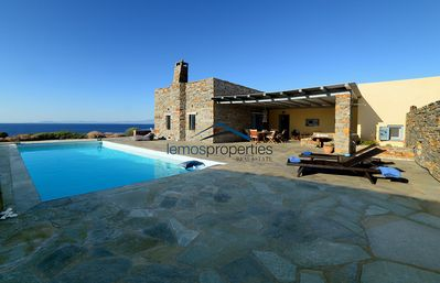 Photo for Luxurious Villa on the waterfront with a pool and direct access to the sea