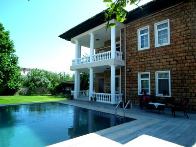 Photo for Villa Akinci - Luxury 4 bedroom private pool & gardens