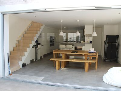 Photo for Large Modern Family House close to High Street, Tube, Train and Buses