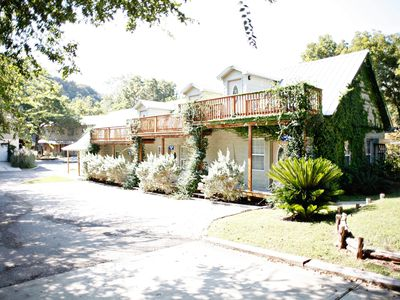 Photo for TIKI LOFTS ON RIVER ROAD- Along the Guadalupe River!