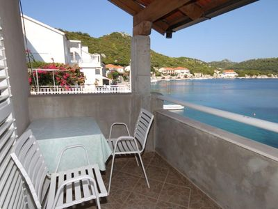Photo for Studio flat with terrace and sea view Pasadur, Lastovo (AS-8392-b)