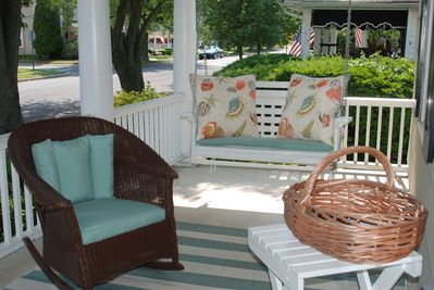Enjoy Fabulous Ocean Breezes on the Front Porch!