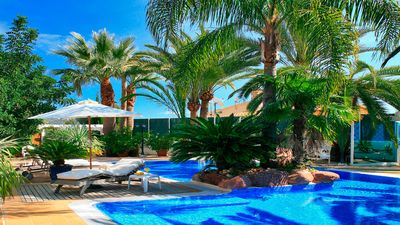 Photo for Very large luxury villa with pool heating,hotelservice (if wanted) fitness