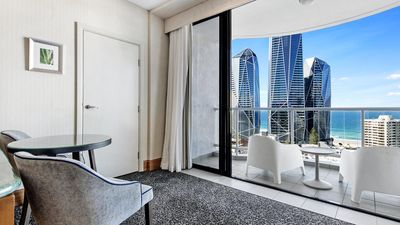 Photo for Oaks 17th Level Private Hotel Suite with Ocean Views