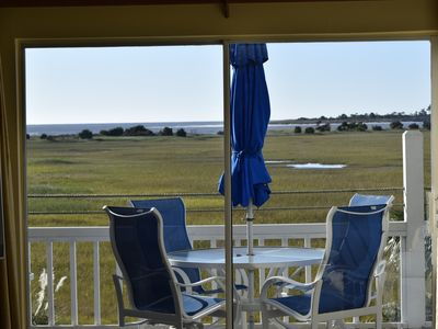 Photo for Beautiful, Upscale  Condo On Private Harbor Island- Salt Marsh And Ocean Front !