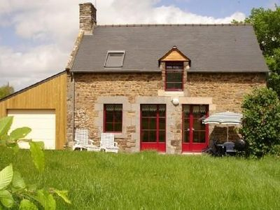 Photo for Pleudihen between St Malo and Dinan-Detached stone house 3 ears 1-4 pers