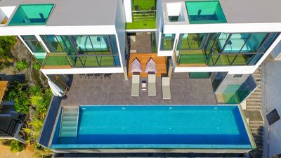 Photo for Modern private villas with seaview