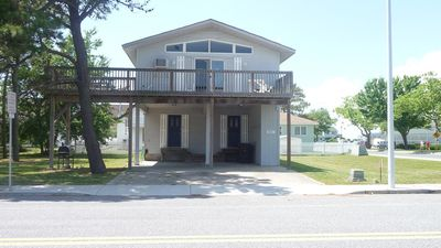 Photo for 9311 Mediterranean House - 2 level, dog friendly house, walk to beach and dog park!