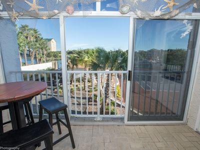 Photo for 205A is a 2 BR on the Harbor with short walk to the beach - Free use of beach caddy with rental