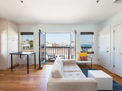 Photo for Waterfront 1BR Penthouse in the heart of Commercial St w/ parking & beach access