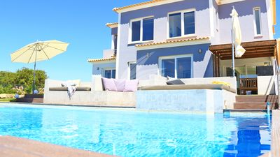 Photo for Beautiful newly renovated villa with Seaview, also from the lower floors,BIGpool