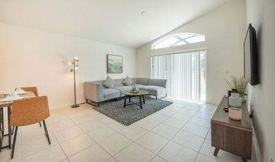Photo for Near Disney! 4BR Family Home with Pool + King Bed