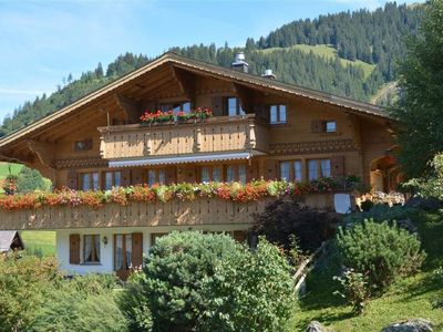 Photo for Apartment Alegria (Parterre) in Gstaad - 8 persons, 4 bedrooms
