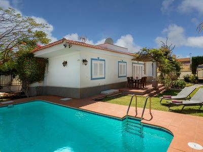 Photo for Villa with private pool near the beach and golf course