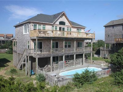 Photo for OCEANFRONT in Avon w/Pool&HotTub, RecRoom w/PoolTable