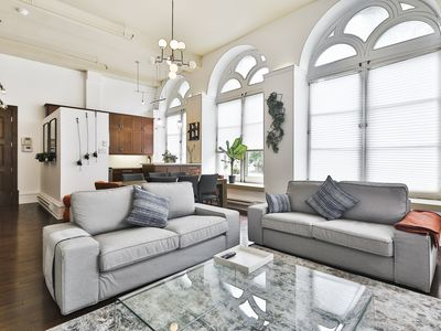 Photo for Stunning 3 floor Apartment Heart Of Old Montreal/ 3bedrooms-4 bathrooms