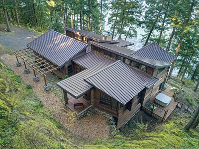 Photo for Newly Listed! Incredible Waterfront Estate with Hot Tub, Deck, Media Room